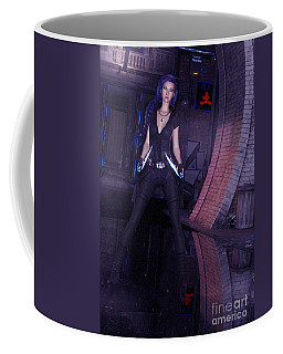 Cyberpunk Assassin Coffee Mug