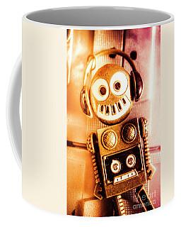 Cyborg Dance Party Coffee Mug