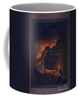 Cycles Fongers Vintage Bicycle Poster Coffee Mug