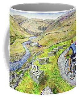 Coffee Mug featuring the painting Lancashire Lanes I by Mark Howard Jones