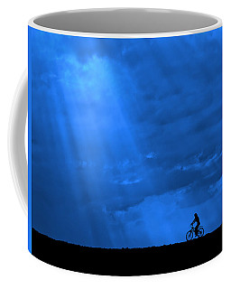 Cycling Into Sunrays No. 2 Coffee Mug