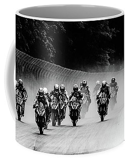 Cyclist' Coffee Mug by Michael Nowotny