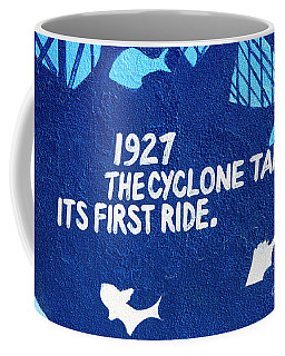 Cyclone Takes Its First Ride Coffee Mug