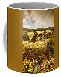 Cygnet Rustic Farming Fields Coffee Mug