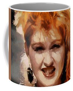 Cyndi Lauper Coffee Mug