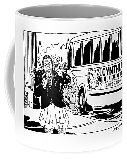 Cynthia Nixon For Governor Coffee Mug