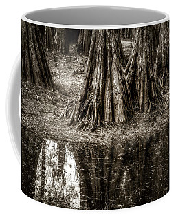 Coffee Mug featuring the photograph Cypress Island by Andy Crawford