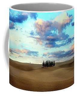 Cypress Trees Of San Quirico D'orcia Of Tuscany Coffee Mug
