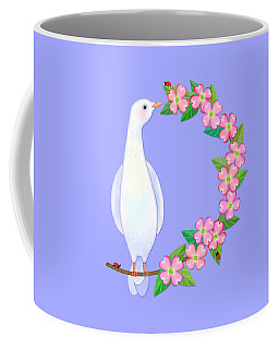 D Is For Dove And Dogwood Coffee Mug