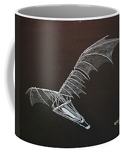 Da Vinci Flying Machine Coffee Mug