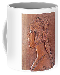 Da Vinci Girl Coffee Mug