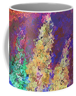 Dabble Flowers Coffee Mug