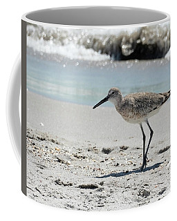 Coffee Mug featuring the pyrography Daddy Longlegs by Sally Sperry