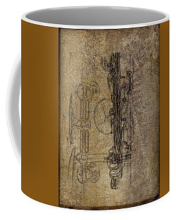 Dads Clarinet Coffee Mug