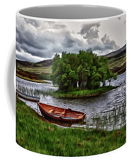 Dads Fishing Spot P D P Coffee Mug