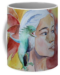Daenerys Targaryen Born Dragon  Coffee Mug