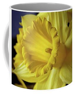 Daffodil Closeup - Square Coffee Mug