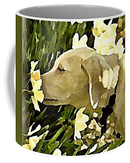 Daffodil Dog Coffee Mug