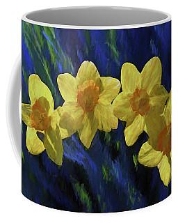Daffodil Quartet Coffee Mug by Jerry Gammon