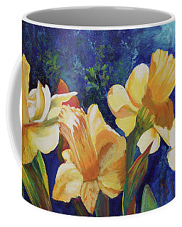 Daffodils Coffee Mug by Alika Kumar