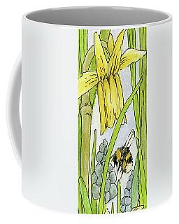 Daffodils And Bees Coffee Mug