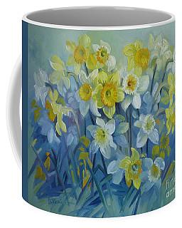 Daffodils Dance Coffee Mug