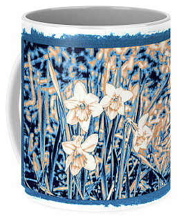 Daffodils In Print Coffee Mug