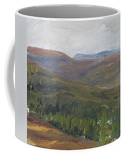 Dagrar Over Salenfjallen - Shifting Daylight Over Distant Horizon 1 Of 10_0034 50x50 Cm Coffee Mug