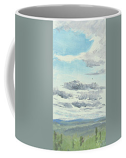 Dagrar Over Salenfjallen- Shifting Daylight Over Distant Horizon 10 Of 10_0029 Coffee Mug