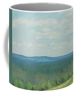 Dagrar Over Salenfjallen- Shifting Daylight Over Distant Horizon 3 Of 10_0029 50x40 Cm Coffee Mug