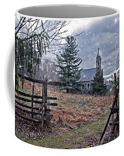 Dahlgren Chapel Winter Scene Coffee Mug