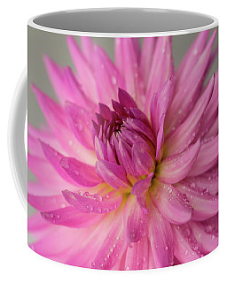 Coffee Mug featuring the photograph Dahlia After The Rain by Mary Jo Allen