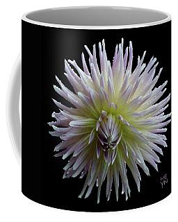 Dahlia Cutout Coffee Mug by Shirley Heyn
