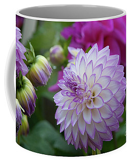 Dahlia Coffee Mug by Glenn Franco Simmons