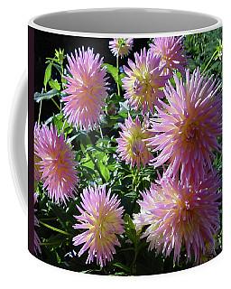 Dahlia Group Coffee Mug by Shirley Heyn