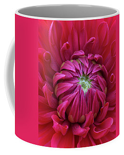 Dahlia Heart Coffee Mug