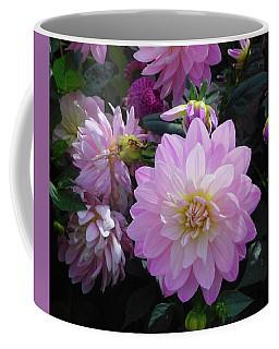 Coffee Mug featuring the photograph Dahlia In Powerscourt by Melinda Saminski