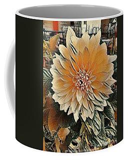 Dahlia Mocha Latte Coffee Mug