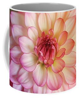 Dahlia Rainbow Beauty Coffee Mug by Rachel Cohen