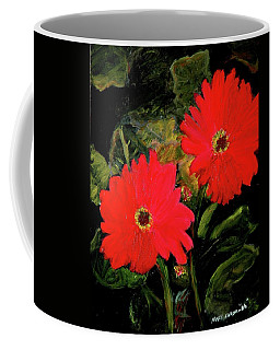Dahlias By Mary Krupa  Coffee Mug