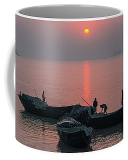 Daily Chores On The River Coffee Mug