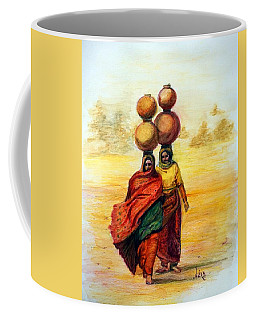 Daily Desert Dance Coffee Mug by Alika Kumar