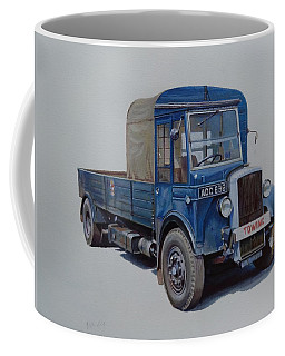 Daimler Wrecker Btc Coffee Mug by Mike Jeffries