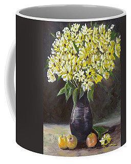 Daisies And Apples  Coffee Mug