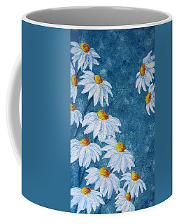 Daisies And More Daisies Coffee Mug by Megan Walsh