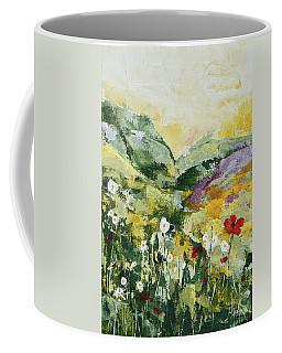 Daisies And Poppies Coffee Mug