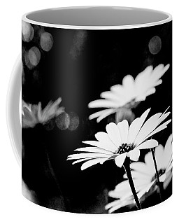 Daisies In Black And White Coffee Mug