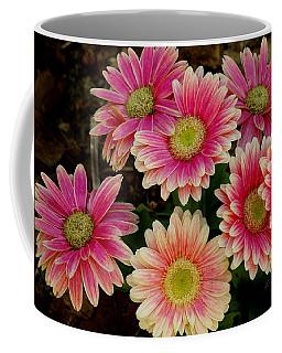 Daisies In Pink Coffee Mug