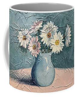 Daisies Coffee Mug by Janet King