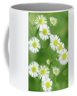 Daisies - Wild Flowers  Coffee Mug
